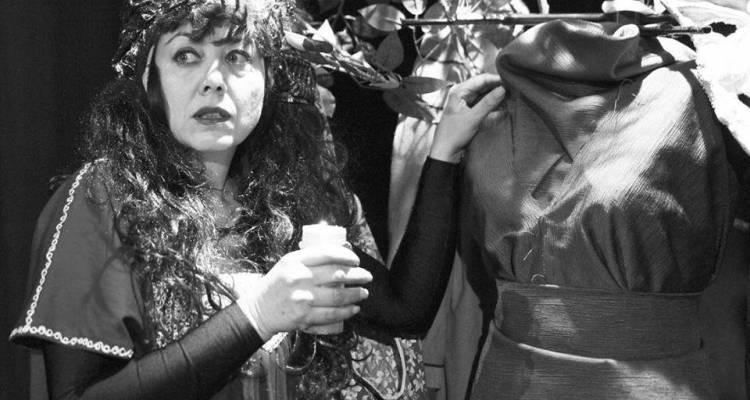 Eva De Rosa in scena