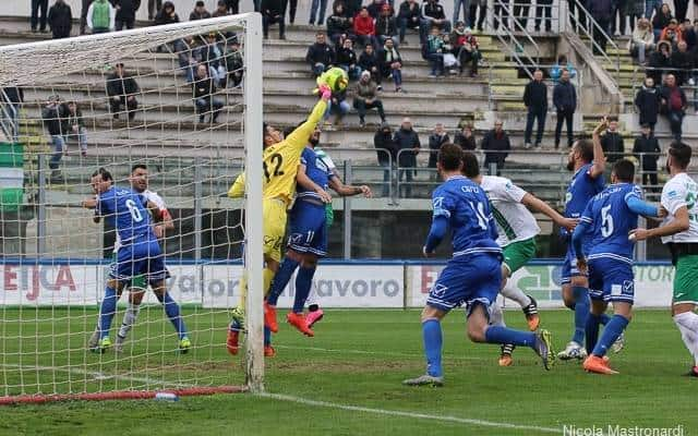 Al Vito Simone Veneziani di Monopoli (BA), Monopoli-Andria termina 1 a 1: il tabellino della gara e la photogallery del match