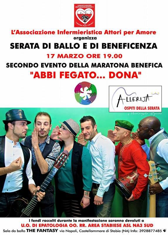 La maratona di beneficenza Abbi Fegato...Dona, organizzata per il Reparto di Epatologia - Ospedale di Gragnano, è stata un successo. I dati