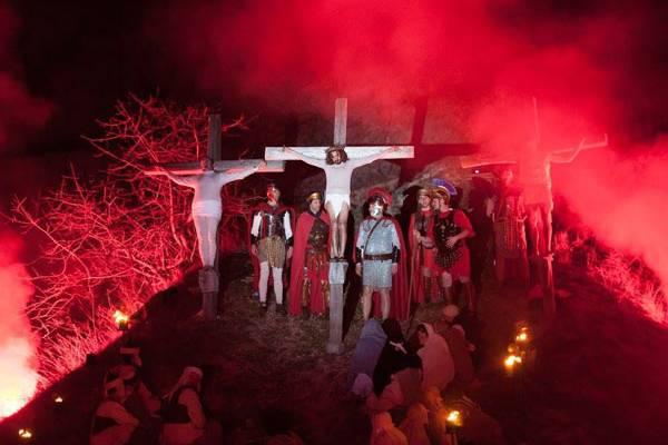 Passio è un grande evento popolare realizzato dall'intera comunità di Serravalle di Carda. Una manifestazione nata nel 1979