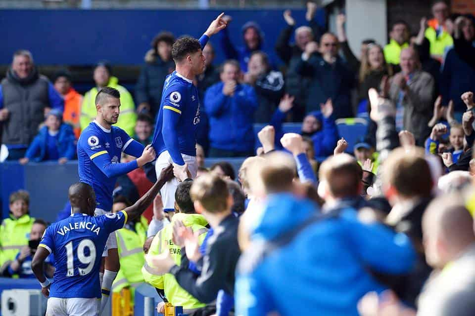 EVERTON VS BURNLEY 3-1, IL TABELLINO DELLA PARTITA