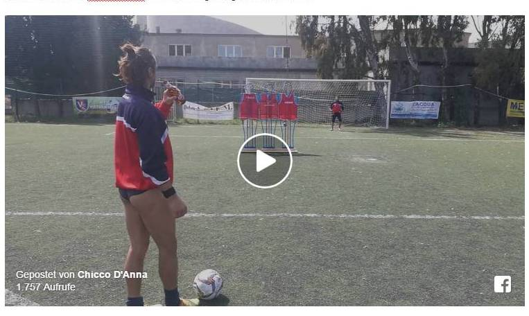 Stefano Tricamo, calciatore del Milazzo, è salito alla ribalta delle cronache grazie a un video che spopola sul web