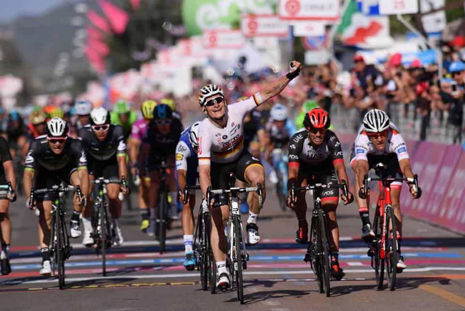 Giro d'Italia, 2° Tappa a Greipel