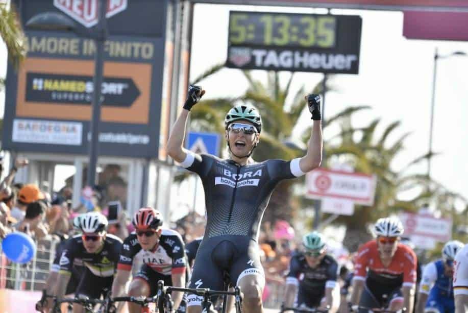 Giro d'Italia, 1° Tappa: Pöstlberger è la prima maglia rosa del Giro 100