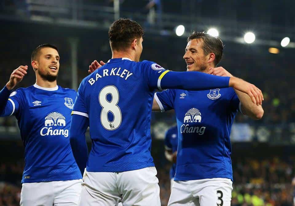 Everton vs Watford, partita decisa da Barkley con un tiro dalla distanza