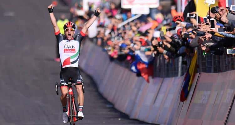 Giro d'Italia 2017, Polanc vince la quarta tappa