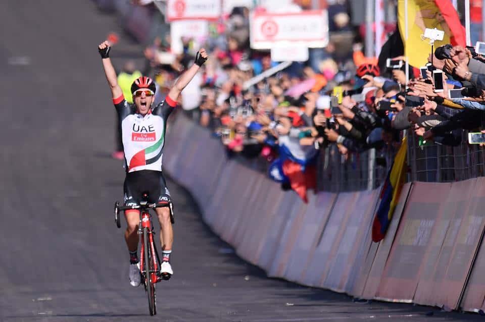 Giro d'Italia, 4° Tappa: Polanc fa il gigante sull'Etna; Nibali attacca senza fortuna
