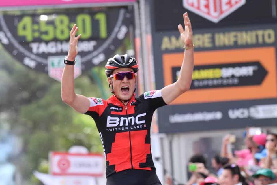 Giro d'Italia, 6° Tappa: Dillier vince dopo la fuga, la classifica rimane invariata