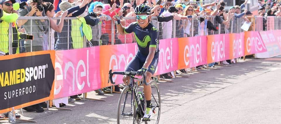 Giro d'Italia, 9° Tappa: Quintana domina sul Blockhaus, Nibali perde 1' e 10''
