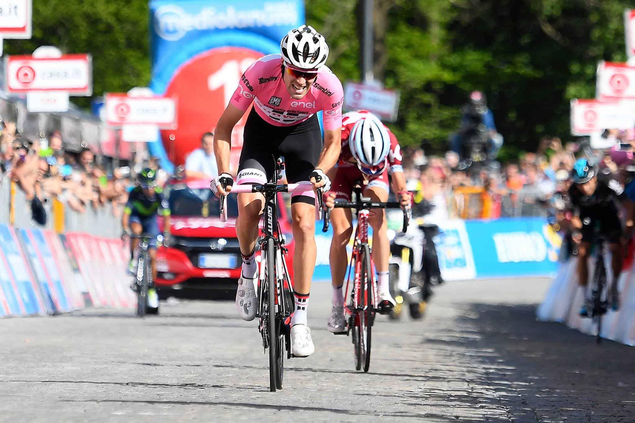 Giro d'Italia, 14° Tappa: Domoulin fa il fenomeno ad Oropa, anche Quintana si arrende