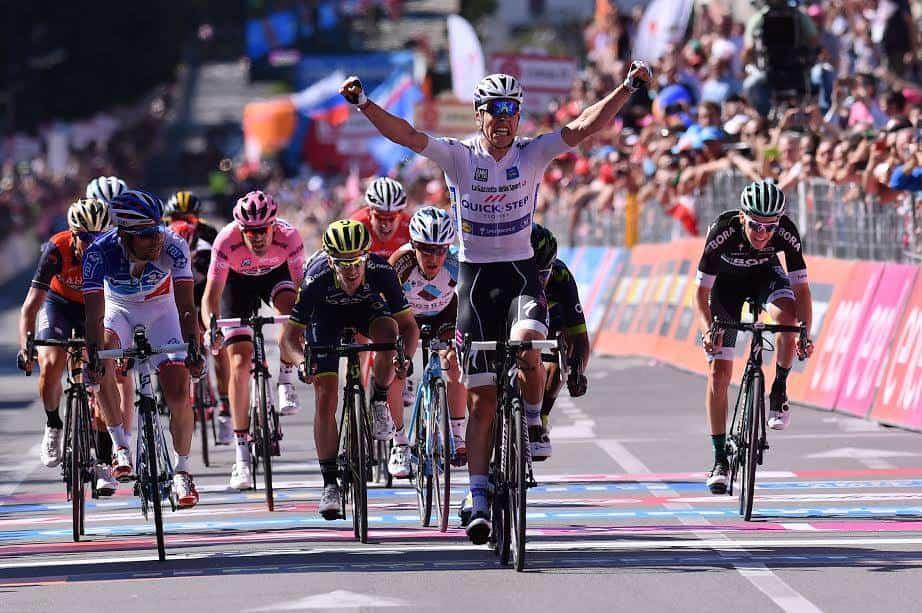 Giro d'Italia, 15° Tappa: Jungels vince nella mini-volata dei big