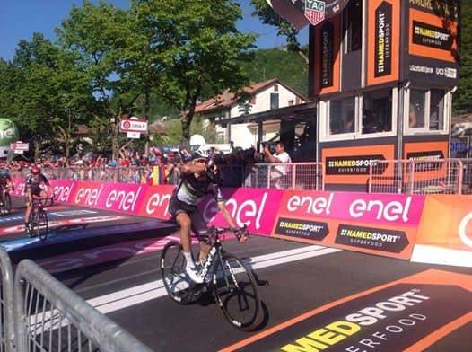 Giro d'Italia: bellissima vittoria di Omar Fraile nell'undicesima tappa