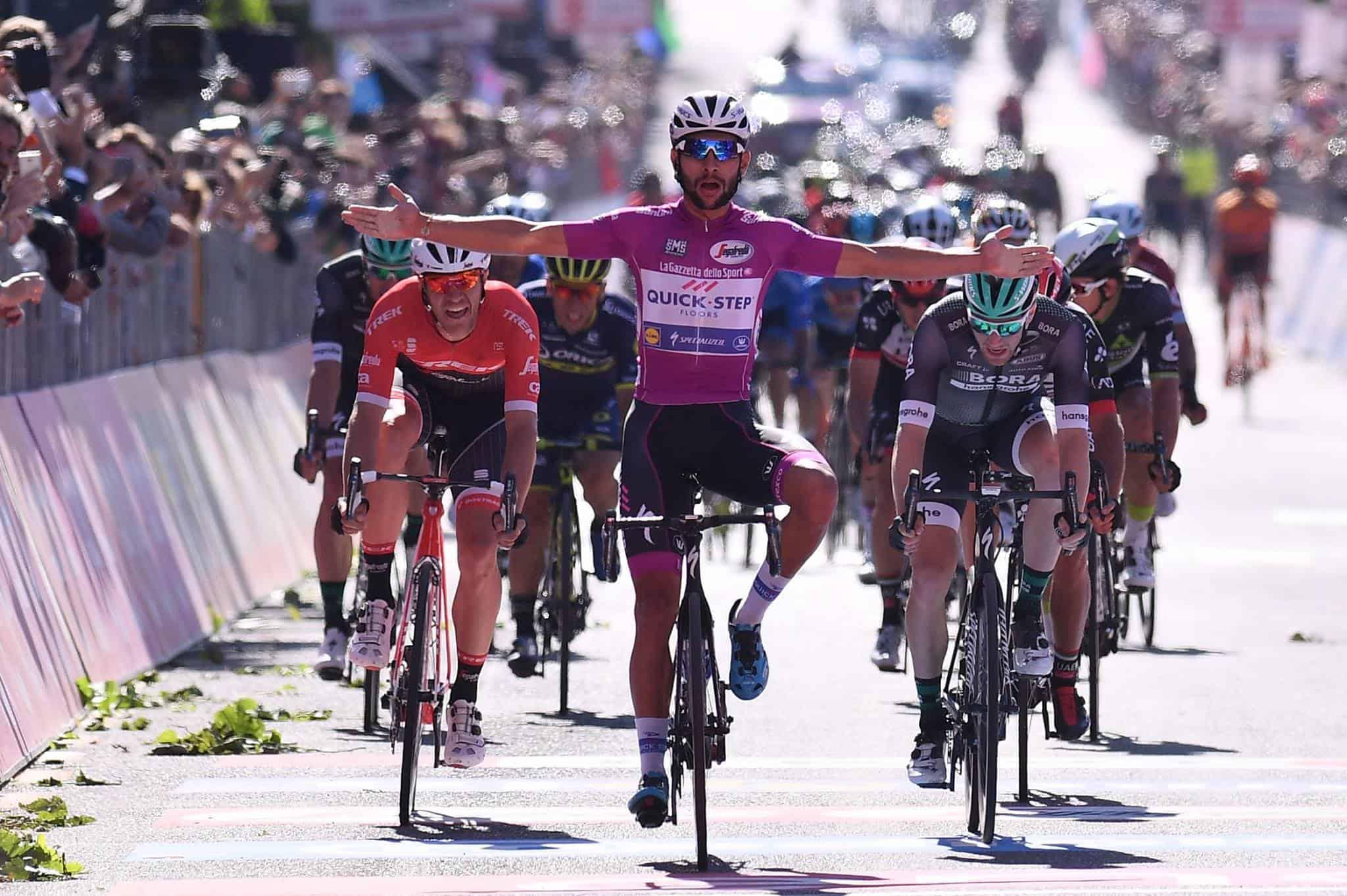 Giro d'Italia, 13° Tappa: Gaviria mostruoso, mette tutti alle sue spalle per la quarta volta