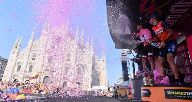 Giro d'Italia, 21° Tappa: Domoulin si prende la 100° maglia rosa