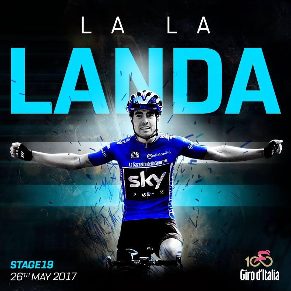 Giro d'Italia, 19° Tappa: vittoria con dedica a Scarponi per Landa; Quintana prende la maglia rosa