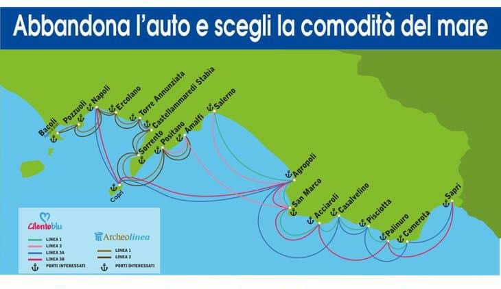 Inaugurata la stazione portuale di Castellammare di Stabia per la linea marittima ArcheoLinea, che via mare conduce da Baia ad Amalfi
