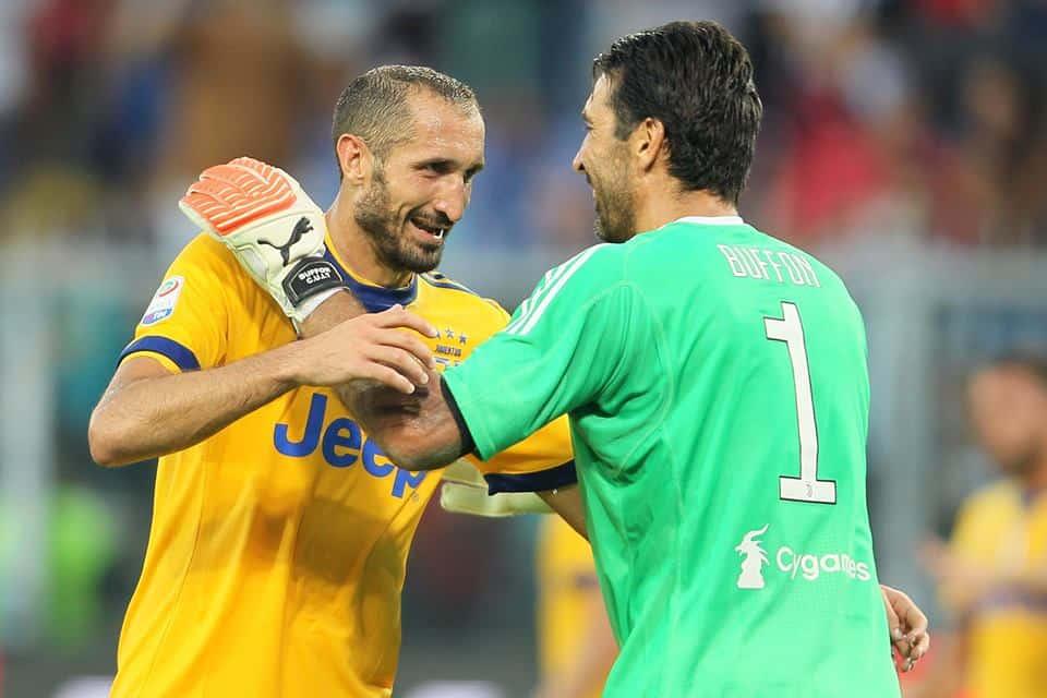 Infortunio per Chiellini: il difensore della Juventus salterà le prossime sfide con la Nazionale, e forse anche Barcellona.