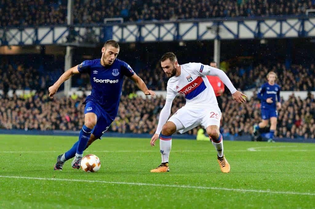 Everton vs Lione
