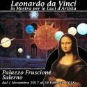 A Palazzo Fruscione, nel Centro Storico di Salerno, una mostra sulla vita, le opere e le macchine del Genio dell'Umanità, Leonardo da Vinci