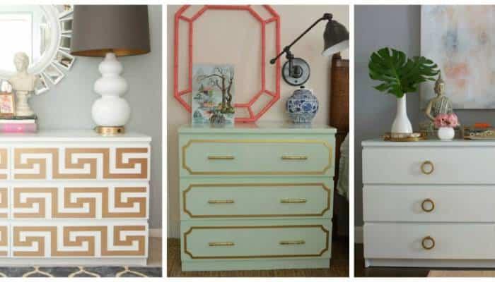 Popolare Idee arredo: come personalizzare i mobili Ikea con idee cheap and chic UK91