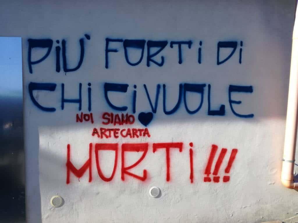 Il 14 novembre è stato un giorno allucinante per la società Artecarta Italia Srl, che è stata vittima di un episodio fuori da ogni logica