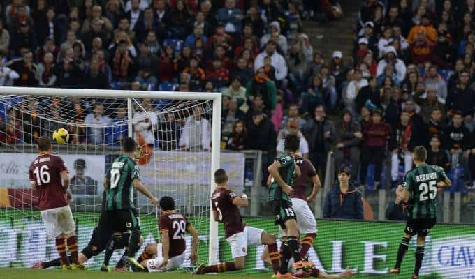 Roma-Sassuolo 1-1: a Pellegrini risponde Missiroli. La Var annulla 2gol