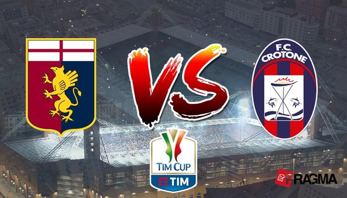 Coppa Italia. Il Genoa di Ballardini prevale sul Crotone di Nicola e approda agli ottavi: cronaca, tabellino e pagelle.