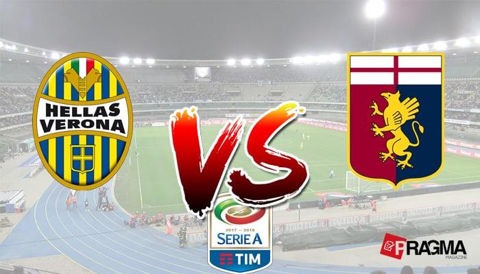 Verona-Genoa. Probabili formazioni. Il Genoa affronterà il Verona di Pecchia nel posticipo ( Verona-Genoa , lunedì 4 dicembre, ore 20.45 )