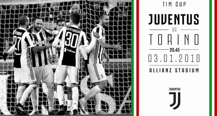 Juventus-Torino: dove vederla in tv e in streaming