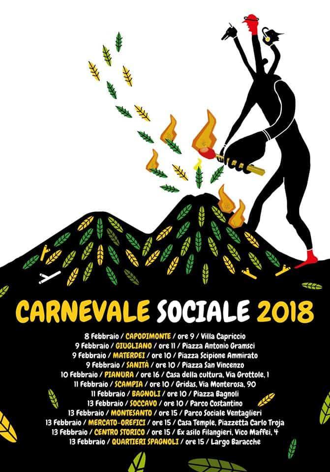 """Il """"carnevale sociale"""" a Napoli: per unire i quartieri popolari e coinvolgere bambini e famiglie che vivono i territori periferici"""