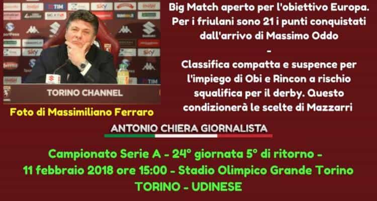 Torino-Udinese, Frustalupi risponde a Oddo: