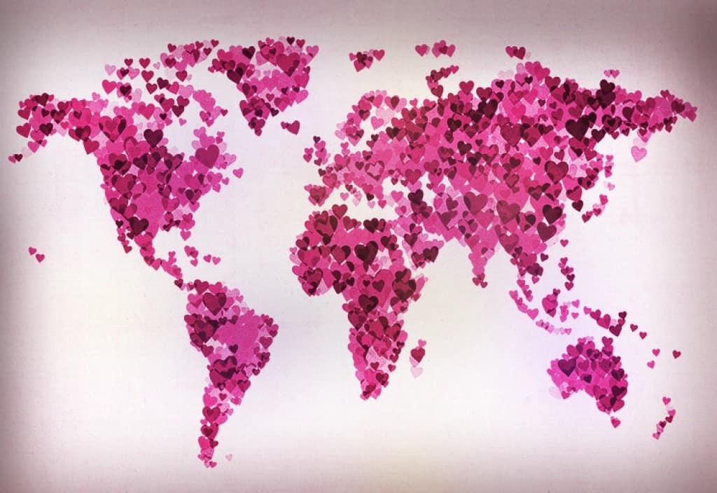 Un viaggio a San Valentino assieme alla vostra dolce metà è il modo ideale per scoprire come gli innamorati di tutto il mondo
