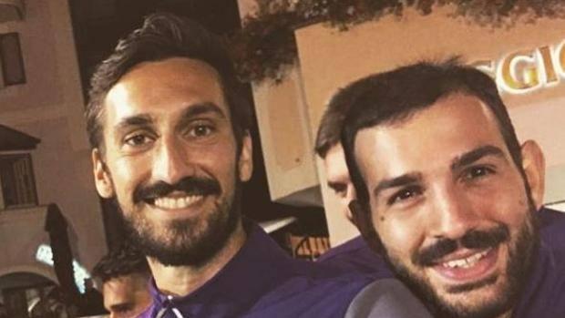 Fiorentina: i tifosi viola rendono omaggio a Davide Astori