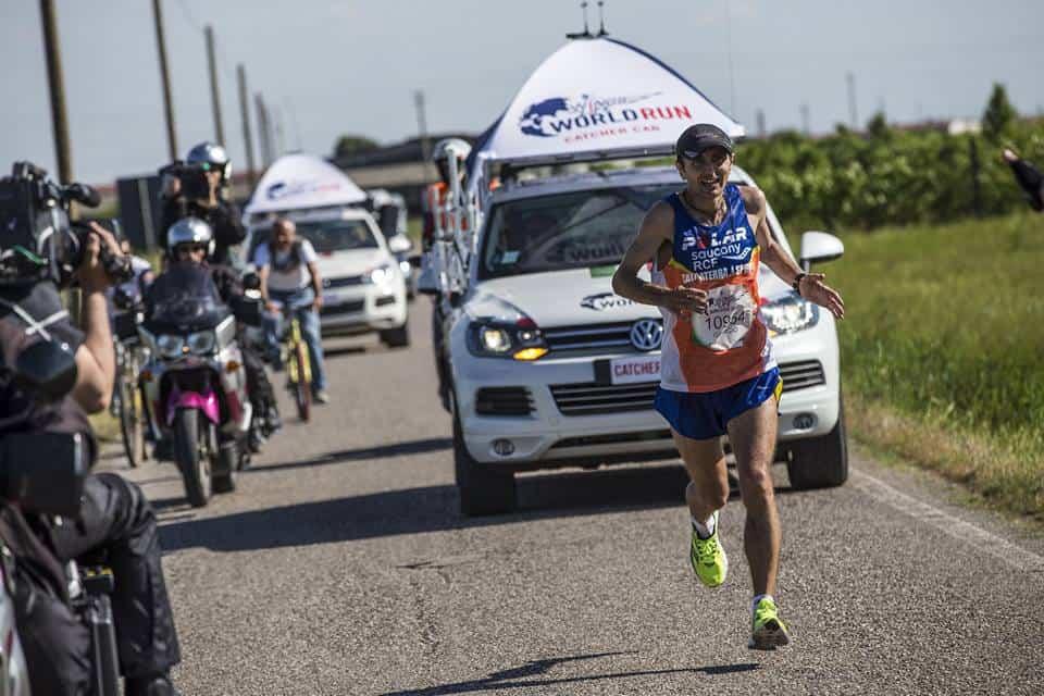 """Calcaterra desidera """"correre in compagnia"""" e alla Maratona di Roma partirà ultimo, in coda ai partecipanti"""