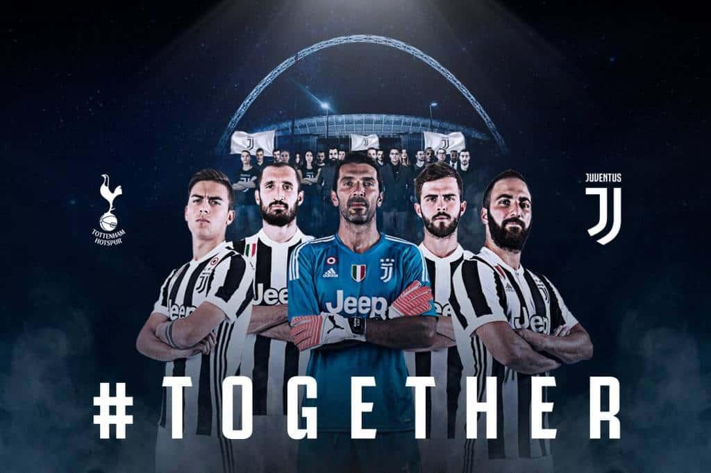 Probabili formazioni di Tottenham vs Juventus: ritorno di De Sciglio e centrocampo a tre per Allegri, Pochettino ripropone il 4-2-3-1.