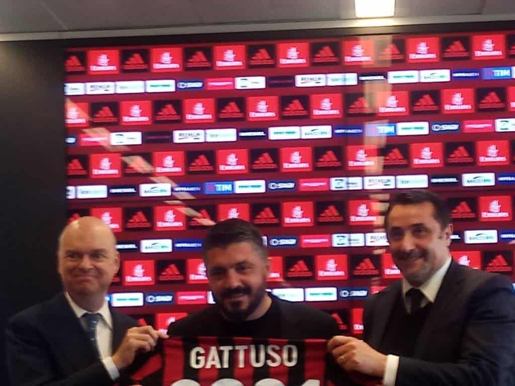 firma Gattuso