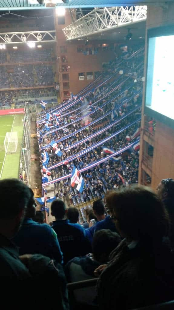 Sampdoria Gradinata Nord 07/04/2018