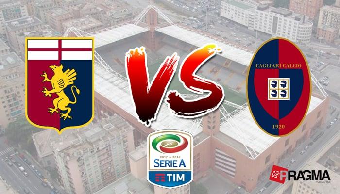 Genoa e Cagliari scendono in campo alle ore 18:30 a Marassi, per il recupero della ventisettesima giornata di campionato. Probabili formazioni