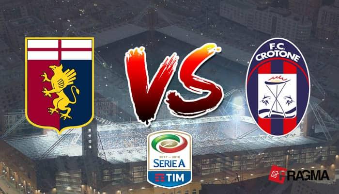 Sabato alle ore 18.00, stadio Luigi Ferraris: il Genoa affronta il Crotone in un match importante, che deciderà le sorti delle due squadre.