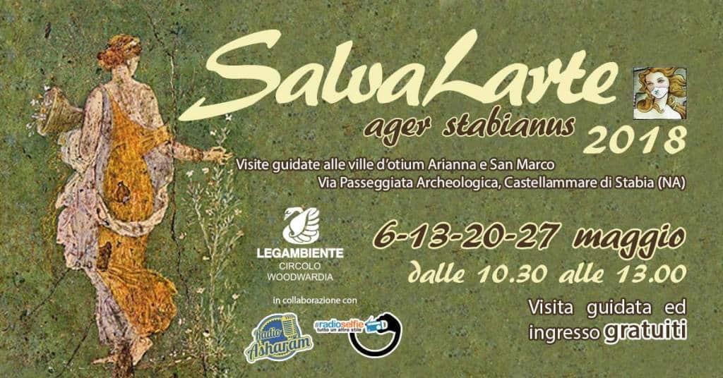 "I volontari di ""Salvalarte ager stabianus"" guideranno i visitatori alla scoperta dei siti archeologici stabiesi.Tutti gli appuntamenti."