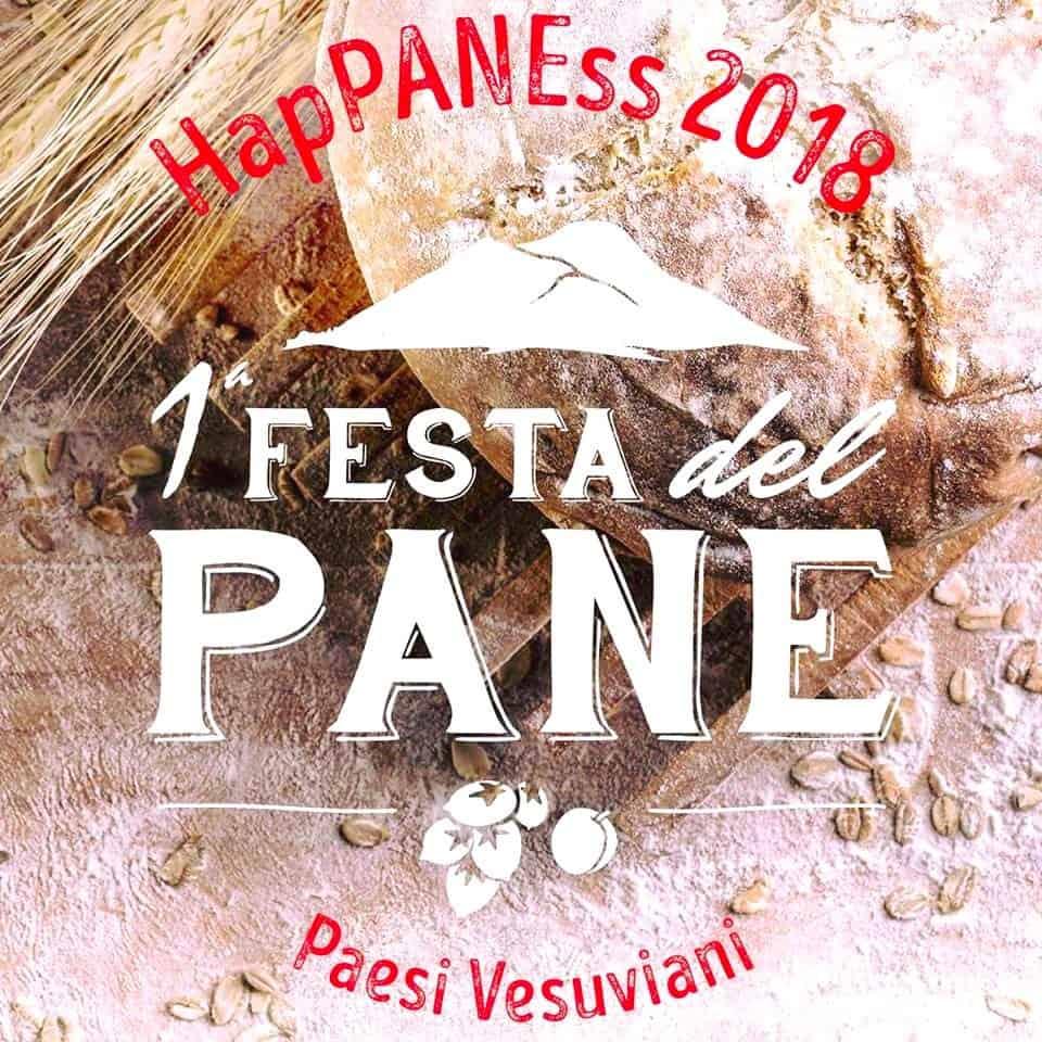 Happaness è l'evento che San Sebastiano al Vesuvio ha voluto per celebrare il pane, il suo fiore all'occhiello. Una manifestazione che coinvolge il pubblico con divertimenti, degustazioni, approfondimenti su questo insostituibile alimento.