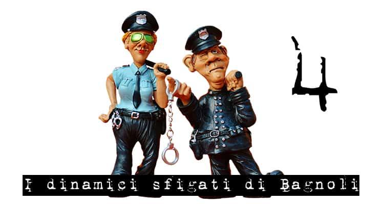 """La """"donna di Coroglio"""" e il """"suicida di Bagnoli"""", quarto episodio poliziesco de """"I dinamici sfigati di Bagnoli"""" di Amedeo Caramanica, distribuito da Magazine Pragma"""