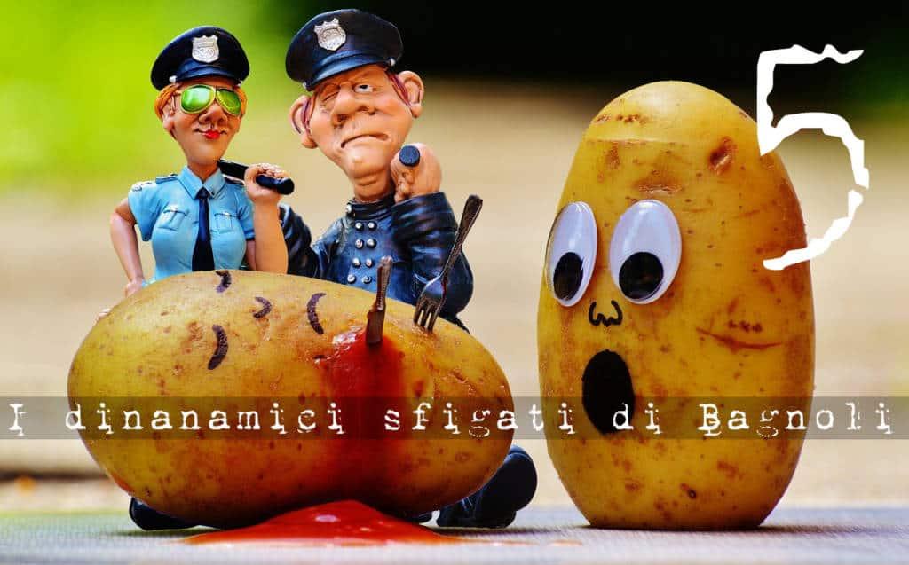 """Il caso Sarno e il rompicapo degli """"incauti debiti"""". Proseguono le indagini sulla """"Donna di Coroglio"""", quinto episodio poliziesco de I dinamici sfigati di Bagnoli, di Amedeo Caramanica, distribuito da Magazine Pragma"""