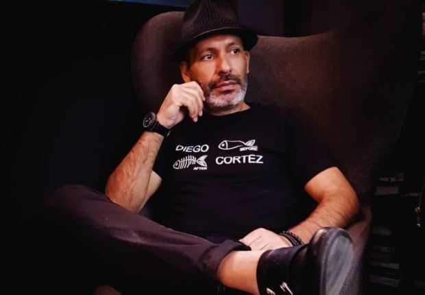 Diego Cortez stilista siciliano, approda da alcuni mesi a New York ed ora è a Napoli in occasione dell'University Music Festival: Be Human in cui presenterà la sua collezione.