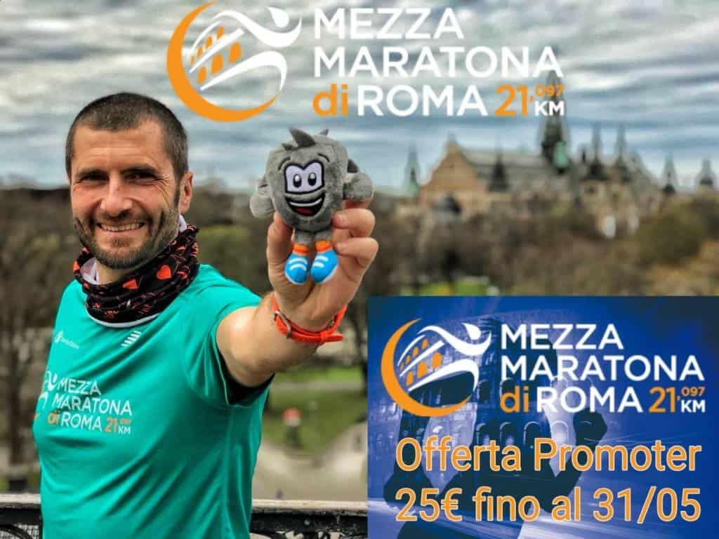 Tutto pronto per la 2^ Edizione della Mezza Maratona di Roma che si svolgerà sabato 16 giugno. I 4000 iscritti partiranno alle ore 21 da Piazza del Popolo e percorreranno le vie più celebri delle capitale in una magica atmosfera che regalerà ai partecipanti 21 Km di emozioni e divertimento.