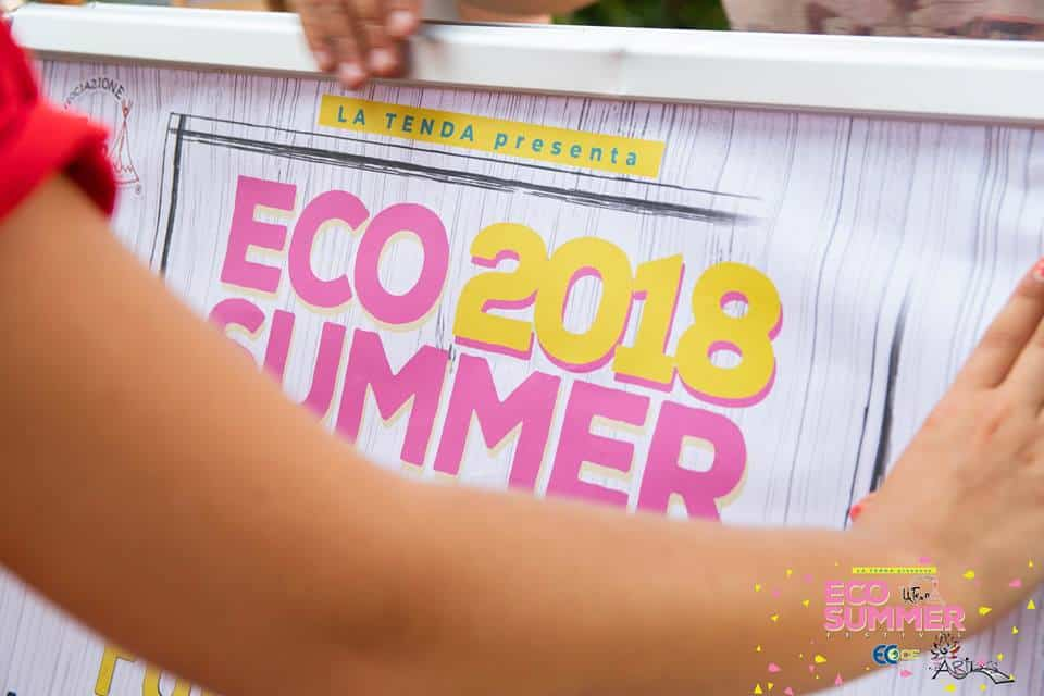 """Dai giorni 26 a 28 Luglio si è svolto l'ECO SUMMER FESTIVAL, l'evento annuale dove l'associazione No Profit """"La Tenda"""" s'impegna affinché la popolazione sia sensibilizzata sulle pratiche eco sostenibili che si possono adottare contro l'inquinamento ambientale."""