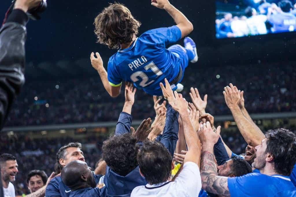 Intervista Andrea Pirlo: l'ex playmaker di Juve e Milan si è espresso su Pogba, Ronaldo e sul calcio di Massimiliano Allegri.