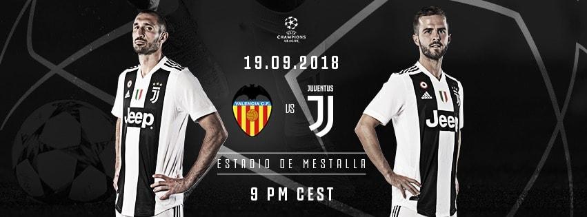 Valencia vs Juventus: Cancelo gioca a sinistra, centrocampo a tre. Per gli spagnoli titolare Batshuayi. Le probabili formazioni.