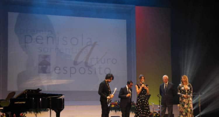 Si è svolta sabato sera presso il Teatro delle Rose la serata di gala della XXIII edizione del Premio Penisola Sorrentina - Le foto