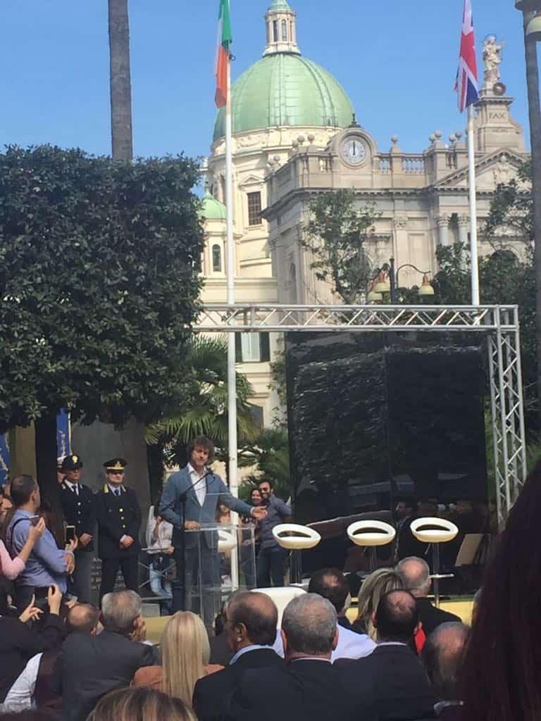 Alberto Angela è cittadino onorario dela città di Pompei. Tutto ciò che è accaduto questa mattina durante la cerimonia di conferimento.